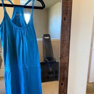 Vibrant blue Carve Designs Sundress w shelf bra